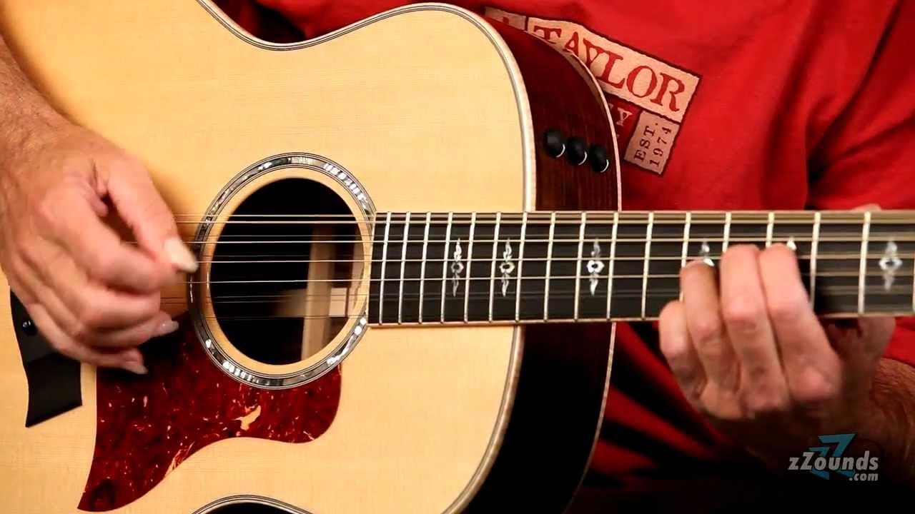 taylor 12 string guitar series youtube. Black Bedroom Furniture Sets. Home Design Ideas