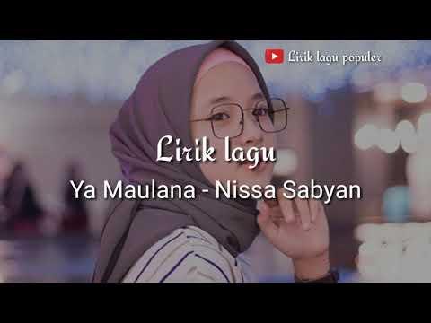 Full Download] Versi Story Wa Quot Ya Maulana Quot Nissa