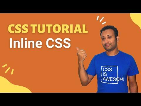 CSS3 Bangla Tutorial 2 : Inline CSS thumbnail