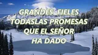 todas las promesas (del SEÑOR JESUS) CON LETRA
