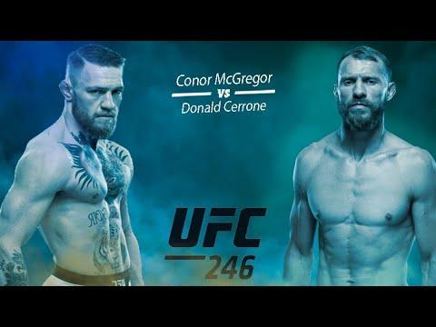 Conor McGregor vs Donald Cerrone Ufc-246 Daxshat Jang