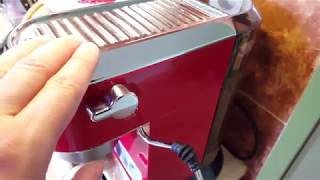 delonghi EC680 Dedica - modyfikacje, latte art