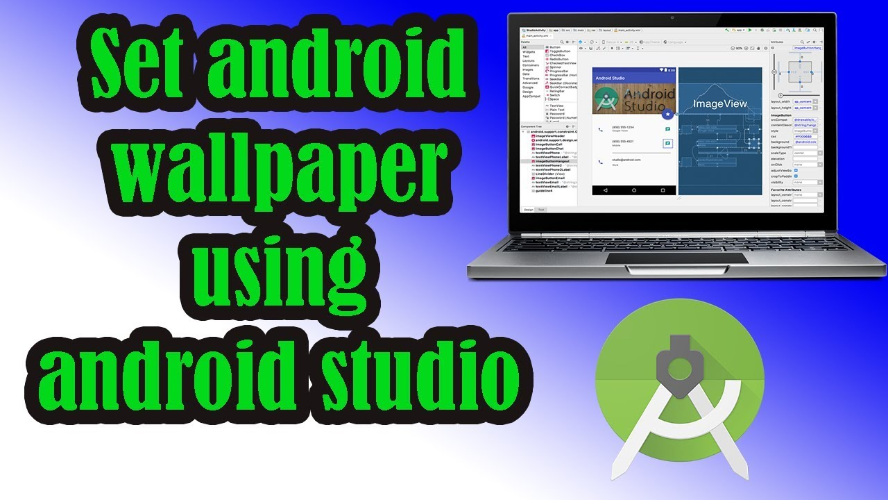 Set Android Wallpaper Programmatically Using Android Studio 2018