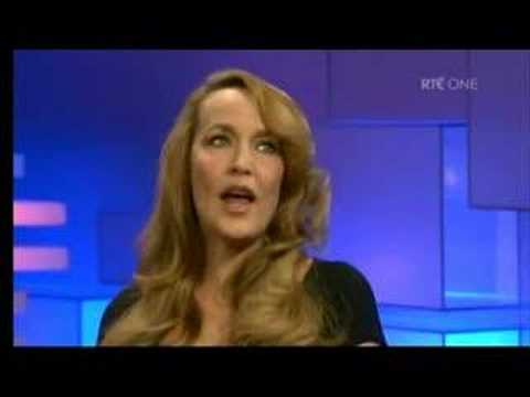 Part 1 - David Soul & Jerry Hall on The Late Late Show
