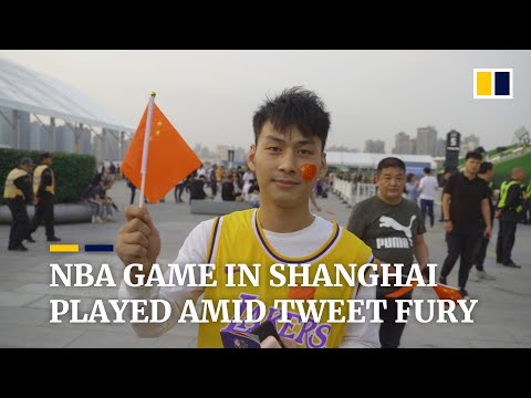 NBA game in Shanghai goes ahead amid China's fury over pro-Hong Kong tweet