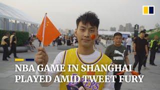 NBA game in Shanghai goes ahead amid China's fury over pro-Hong Kong tweet