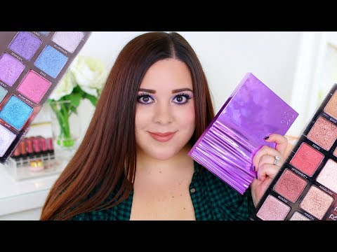 URBAN DECAY HEAVY METALS EYESHADOW PALETTE REVIEW!