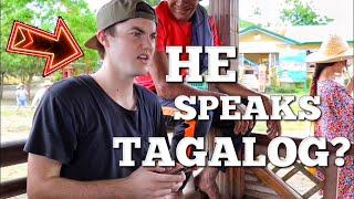AMERICAN GUY SPEAKS TAGALOG