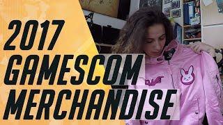 Mein Gamescom Merchandise Haul 2017   Vlog