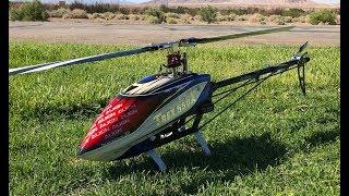 Alan Szabo Jr. ALIGN Trex 550X low head speed fun in the wind