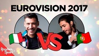 Eurovision 2017 | Italia VS Portugal