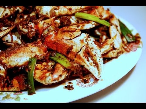 Stir-fry Crab with Ginger and Scallions (Cua Xao Gung H ...
