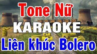 Karaoke Nhạc Sống Bolero Hải Ngoại Trữ Tình   Tuyển Tập Liên Khúc Đặc Biệt Tone Nữ   Trọng Hiếu