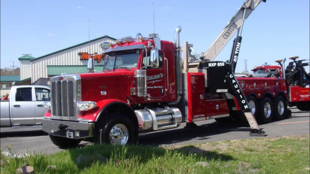 Heavy Duty Tow Truck Show. - YouTube