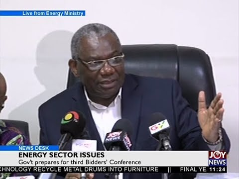Energy Sector Issues - News Desk on Joy News (27-9-17)