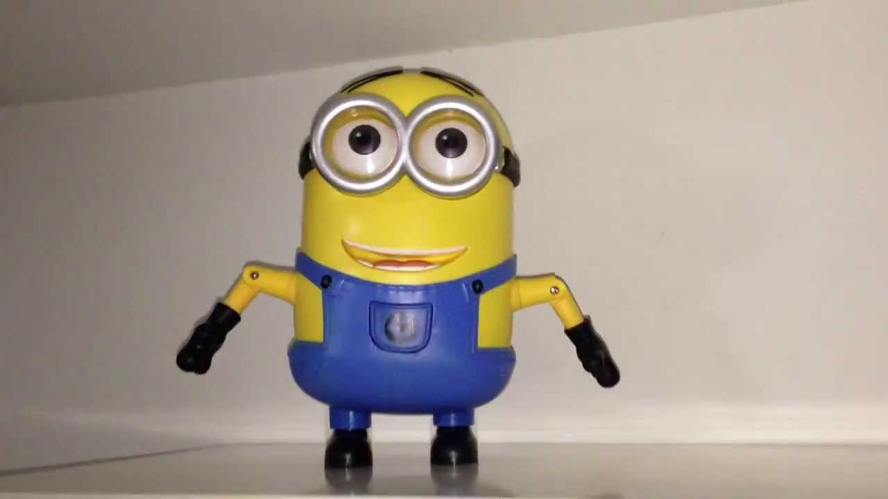 Despicable Me 2 Minions: Talking And Dancing Dave - YouTube