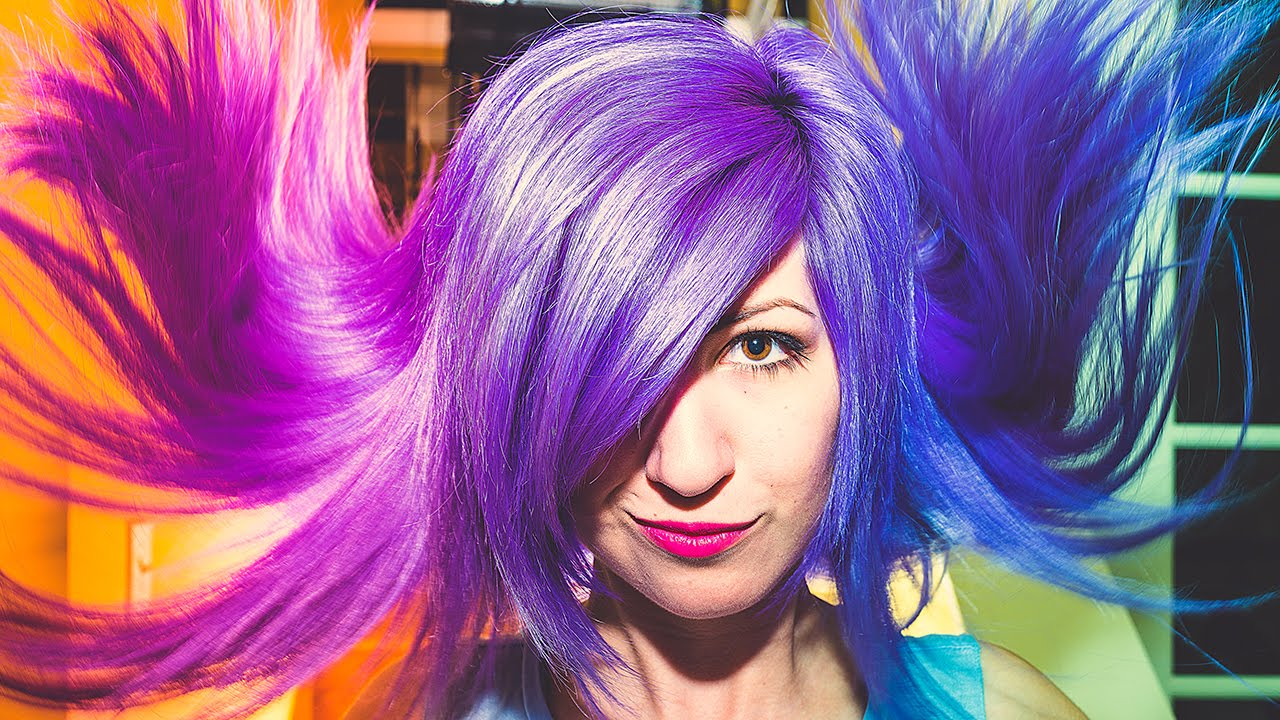 How To Color Changing Hair Secret Revealed Blue Purple Violet