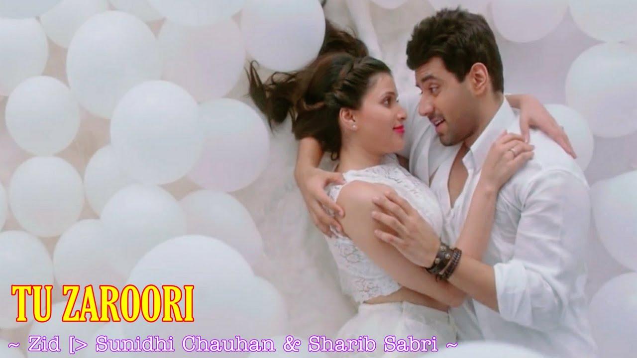 Tu Zaroori Lyrics - ZiD | Sunidhi Chauhan, Sharib-Toshi