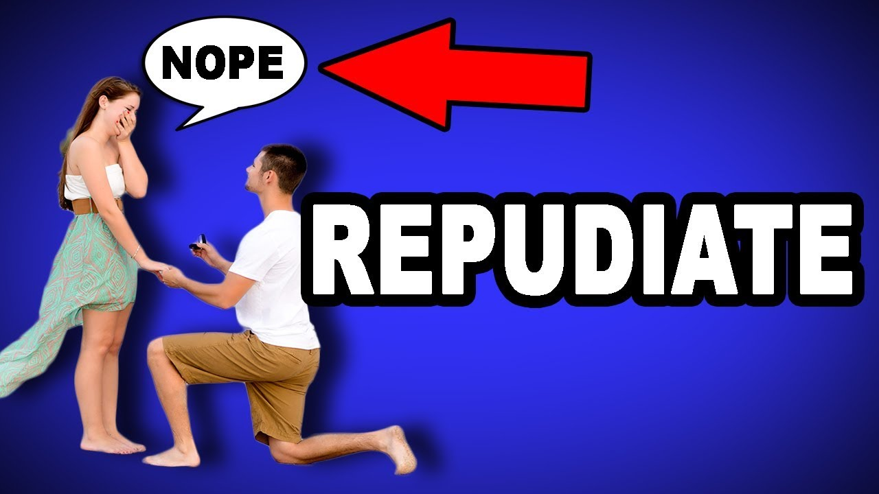 Learn English Words: REPUDIATE - Meaning, Improve Your ...  Repudiate Meaning