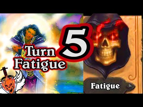 Turn 5 Fatigue  🍀🎲 ~ Journey to Un'Goro ~ Hearthstone Heroes of Warcraft