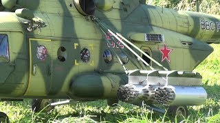 Mil Mi-8MT GIANT 5-BLADE SCALE RC TURBINE HELICOPTER