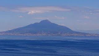 dangerous Vesuvius on the Gulf of Naples