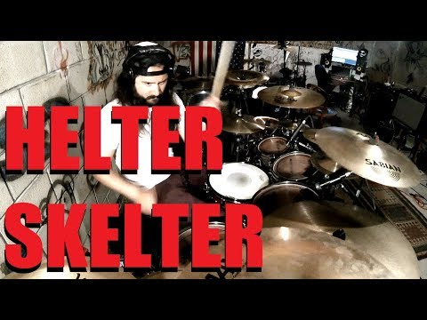 Helter Skelter - Rob Zombie & Marilyn Manson - Drum Cover
