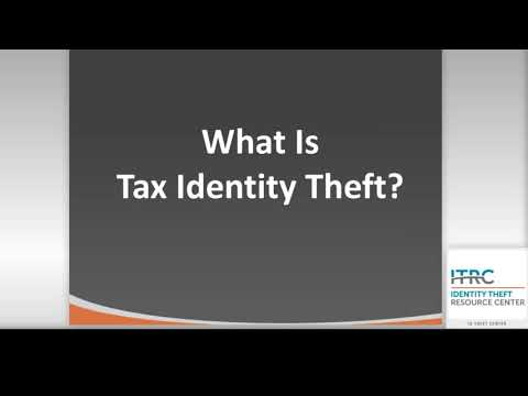 Tax Identity Theft Warning Signs & Recovery Steps Webinar | ITRC & FTC