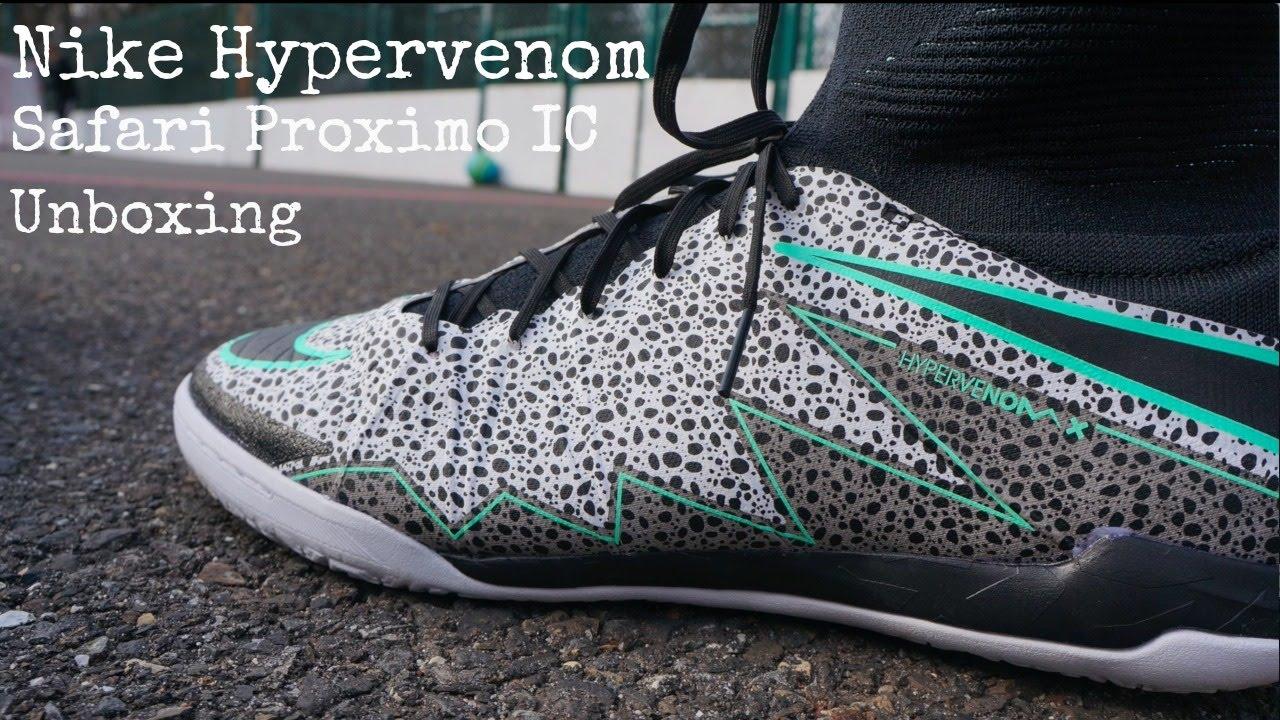 73a5ecb211dc Nike Hypervenom Safari Proximo IC Unboxing