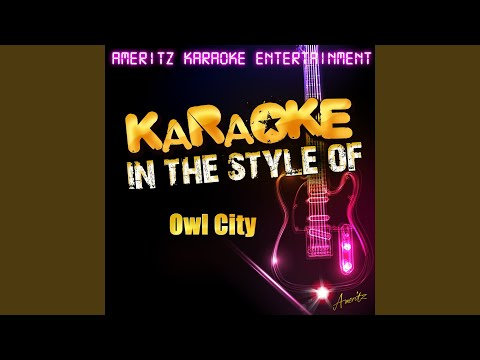 Fireflies (In the Style of Owl City) (Karaoke Version)