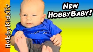 Name the NEW HobbyBaby!  Meet HobbyDee + HobbyGuy