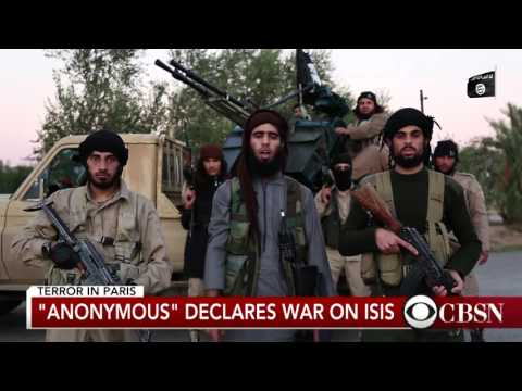Anonymous Declares Cyber War On ISIS