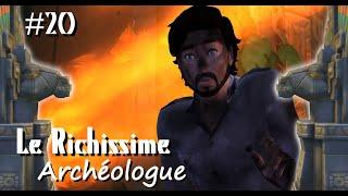 La routine des Temples - Le Richissime Archéologue #20 - Les Sims 4 fr