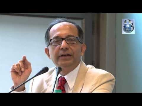 "[Lecture] ""Economics, Public Policy and Social Development"" - Dr. Kaushik Basu"