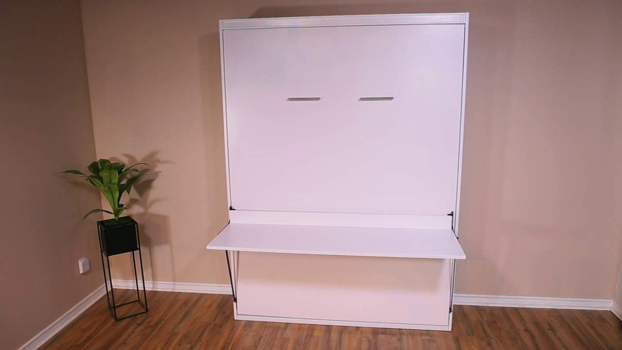 Stay Level Easy Diy Murphy Bed Desk, How To Add A Desk Murphy Bed