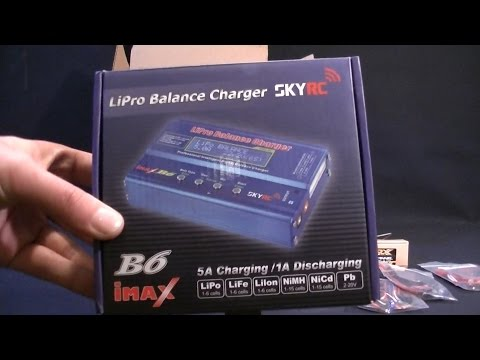 Genuine IMAX B6 LiPo Balance Charger Orange RX's and LED Lights - Unboxing - RC Car Club