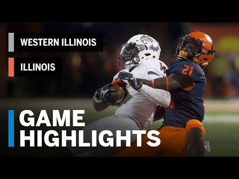 Highlights: Western Illinois Leathernecks vs. Illinois Fighting Illini | Big Ten Football