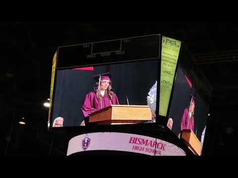 Joey Brooks - Senior Performs 'Parody' of Lady Gaga's 'Shallow' During Graduation