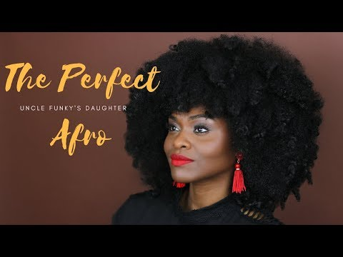 How to Get A Perfect Afro with Uncle Funky's Daughter feat. Creole Naturelle