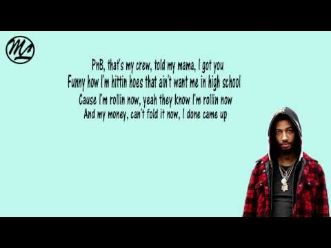 PnB Rock - Back Then (Lyrics)