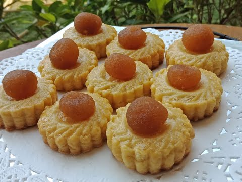 How To Make Pineapple Tart Cookies   Tart Nenas   Pineapple Tarts Recipe In Pashto