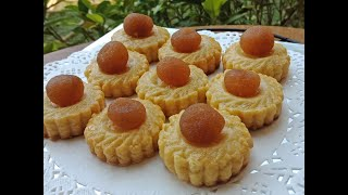 How To Make Pineapple Tart Cookies | Tart Nenas | Pineapple Tarts Recipe in Pashto