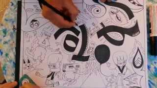 Harajuku sketch