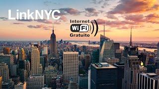El Internet gratis mas rápido | LinkNYC ¡hasta 1 Gbps!