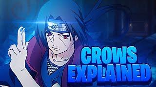 Why Itachi Uses Crows For His Ninjutsu!