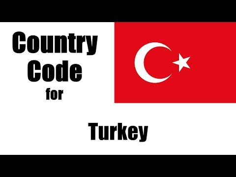 Turkey Dialing Code - Turk Country Code - Telephone Area Codes In Turkey