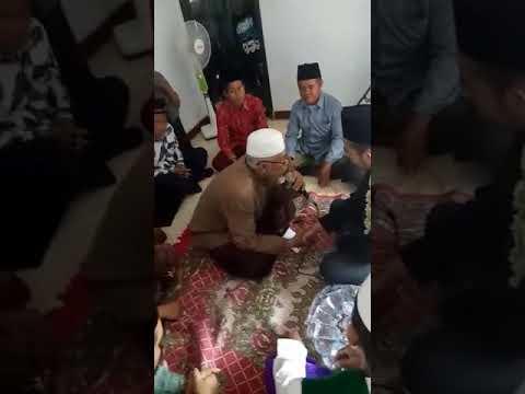 Akad nikah dengan bahasa arab