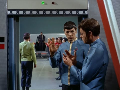 How does that Vulcan salute go?