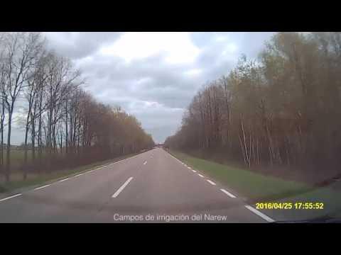 DRIVING EUROPE. XXI. Łomża - Białystok. Los campos del este de Polonia.