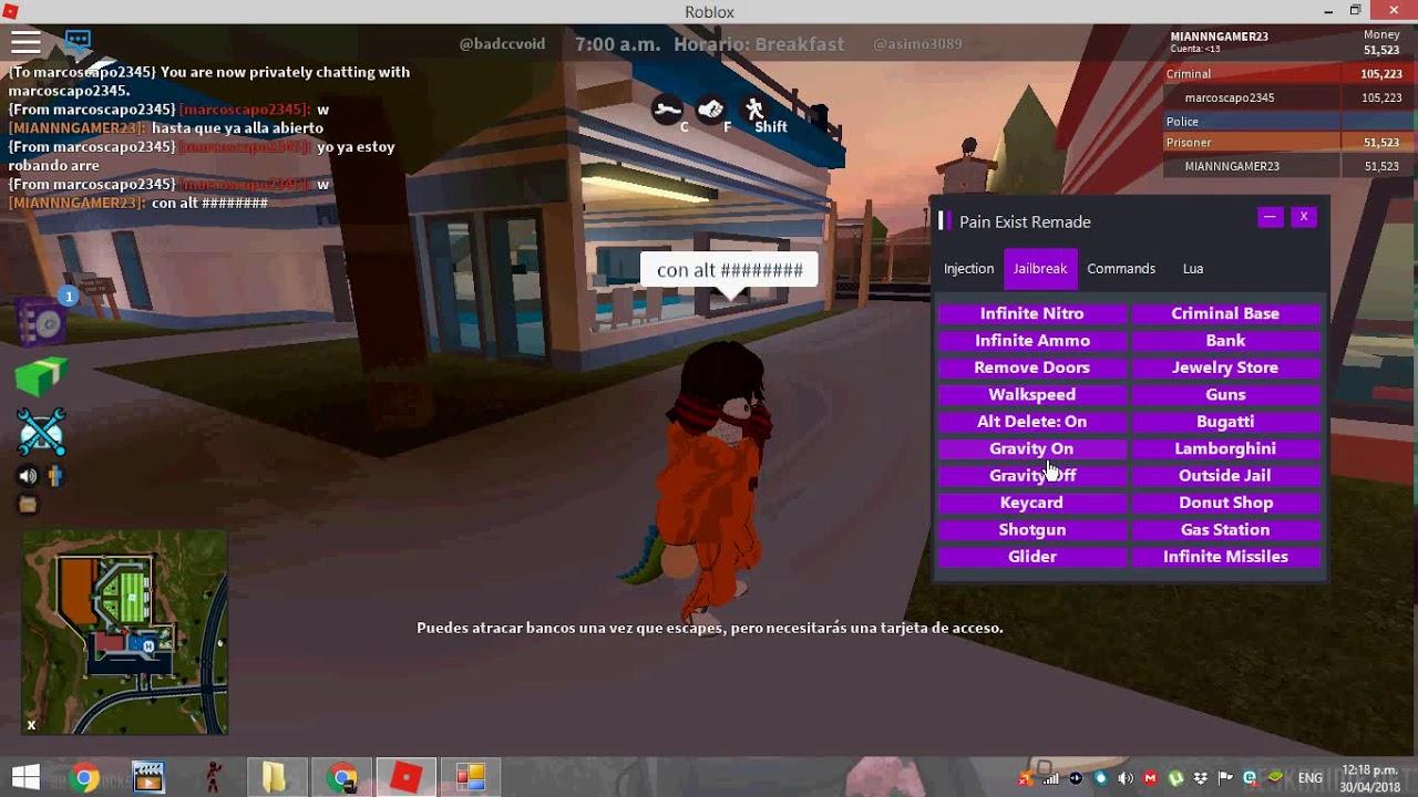 Como Atravesar Paredes En Roblox Jailbreak Hack Roblox Jailbreak Hack Para Tomwhite2010 Com